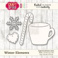 WYKROJNIK CRAFT&YOU CW034  Winter Elements-zima