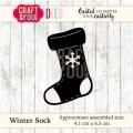 WYKROJNIK CRAFT&YOU CW036 Winter Sock - skarpeta