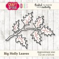 WYKROJNIK CRAFT&YOU CW030 Wykrojnik Big Holly Leaves