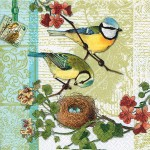 SERWETKA HOME FASHION   Bird Family 211303