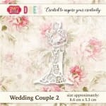 WYKROJNIK CRAFT&YOU CW019 WEDDING COUPLE 2