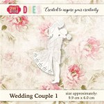 WYKROJNIK CRAFT&YOU CW018 WEDDING COUPLE 1