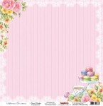Papier 30x30 - Afternoon Tea French Cookies - ScrapBerry's SCB20604205