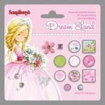 ĆWIEKI ScrapBerry's 15szt DREAM LAND3 PINK SCB340976