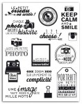 STEMPEL AKRYLOWY 14SZT PHOTO AND KEEP CALM TPG33 TOGA