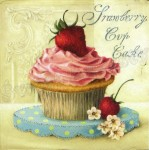 SERWETKA Nouveau PASTRY Cup Cake 74101