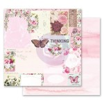 Papier 30x30 - Misty Rose - Their Words for Each Other - 849306 PRIMA