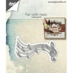 WYKROJNIK FUN WITH MUSIC 6002/1167 JOY!CRAFTS