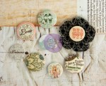 BUTTON 8SZT + STEMPEL PRINCESS 572716 PRIMA