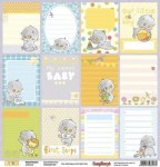 Papier 30x30 - BASIC SWEET DREAMS - Special Moments - ScrapBerry's SCB220607407