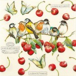 SERWETKA HOME FASHION  Cherry Birds 211530