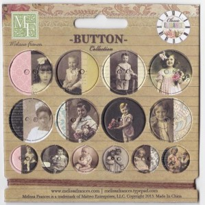 Chipboard Buttons MF 14SZT - GN615 MF