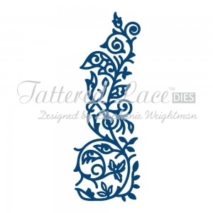 WYKROJNIK TATTERED LACE D234 TUMBLING VINE